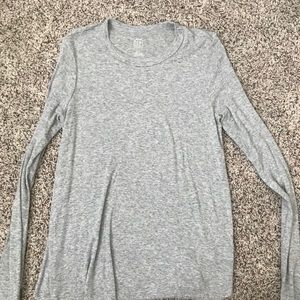 Aerie Real Soft Grey Long Sleeve